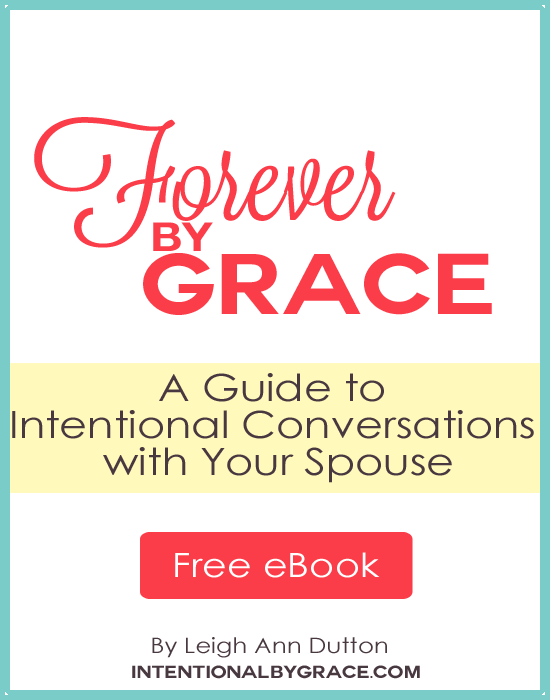 Be Intentional in Your Marriage with this Free Resource!
