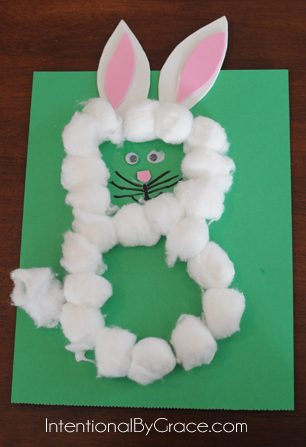 letter B bunny