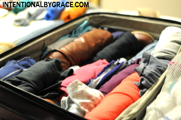 how to pack a suitcase when traveling with babies and toddlers