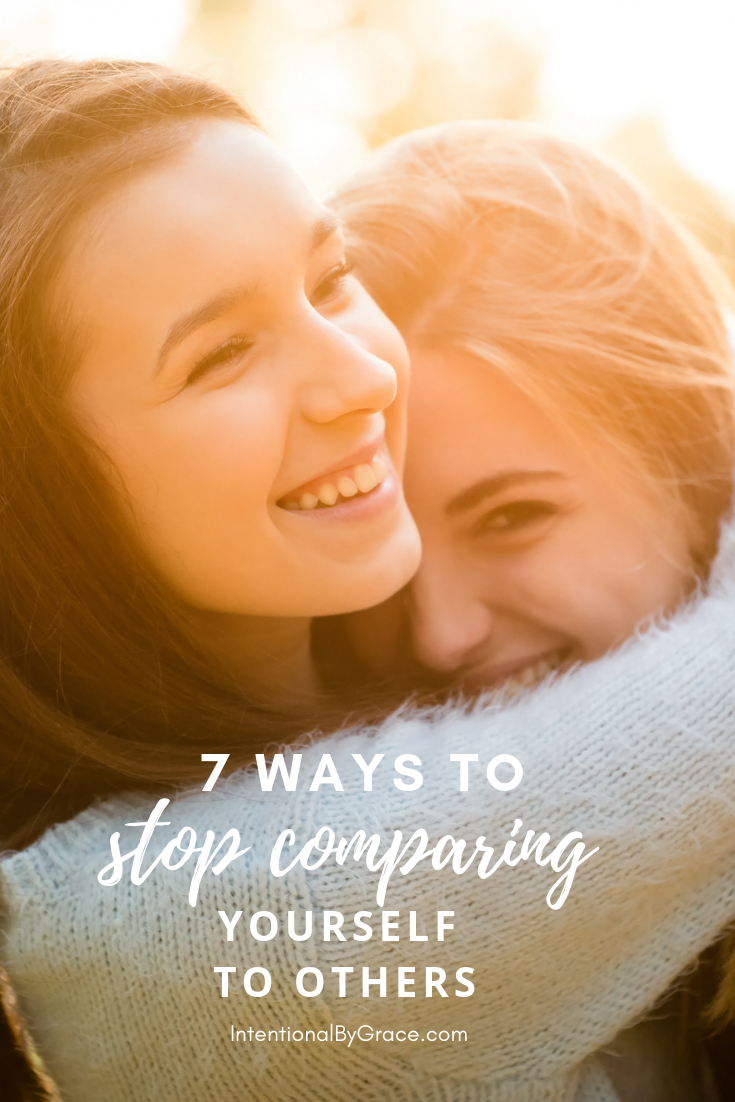 As women we were made to give life, comparison has no place with us. Therefore, here are 7 ways you can stop comparing yourself to others and start living the life you were created for in Christ!