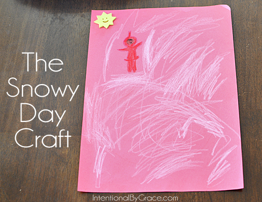 the snowy day craft