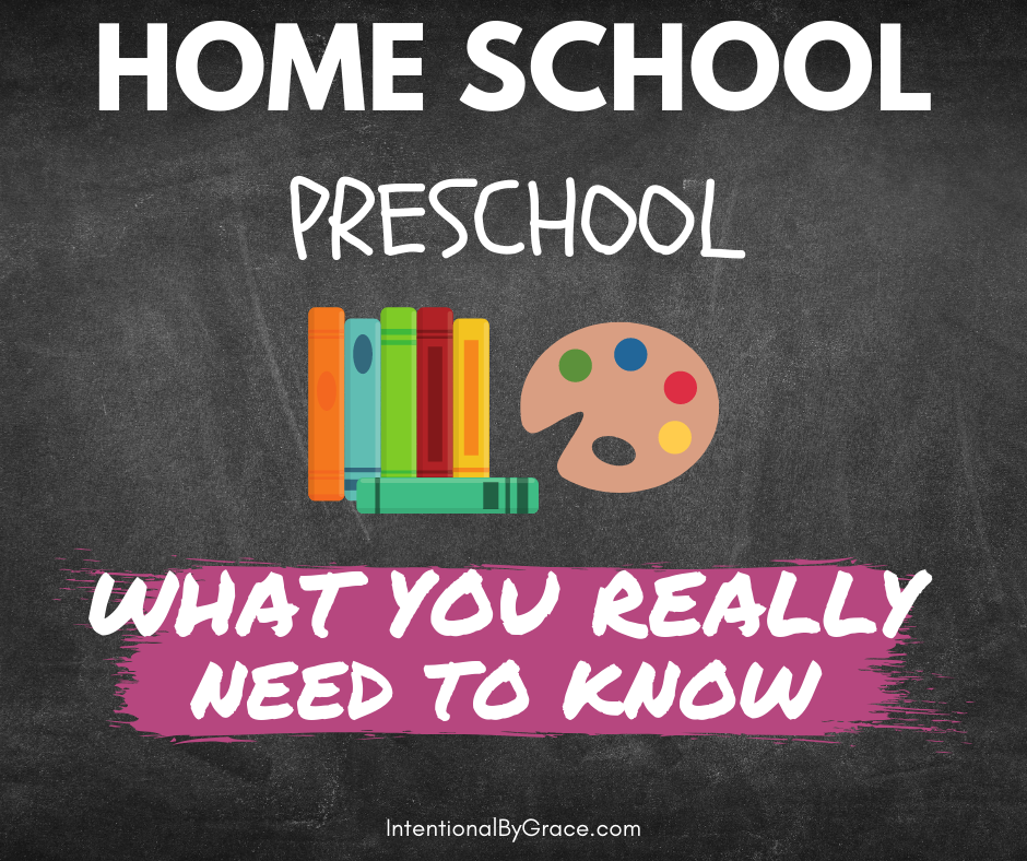"You can homeschool preschool. Here's a few things you need to know how to do preschool at home and have confidence to know you are doing it ""right."" 