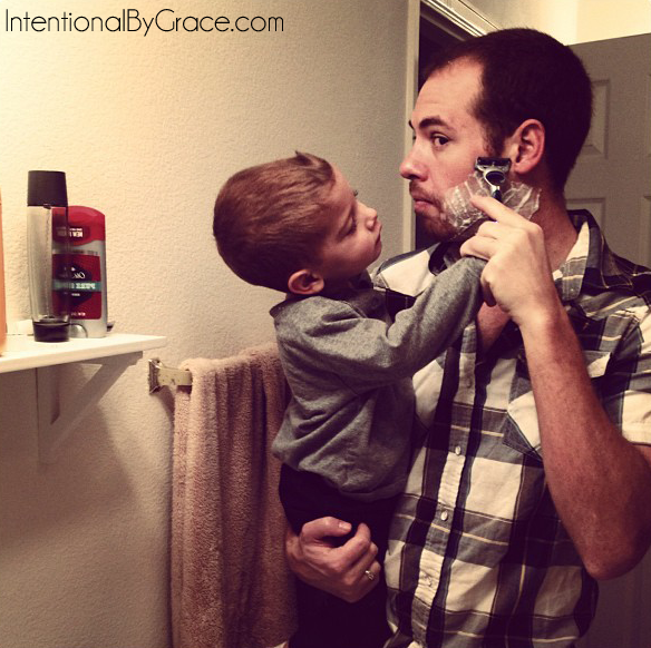 shaving with daddy_edited-1