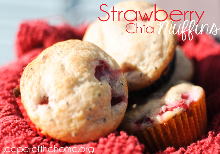 strawberry chia muffins-2