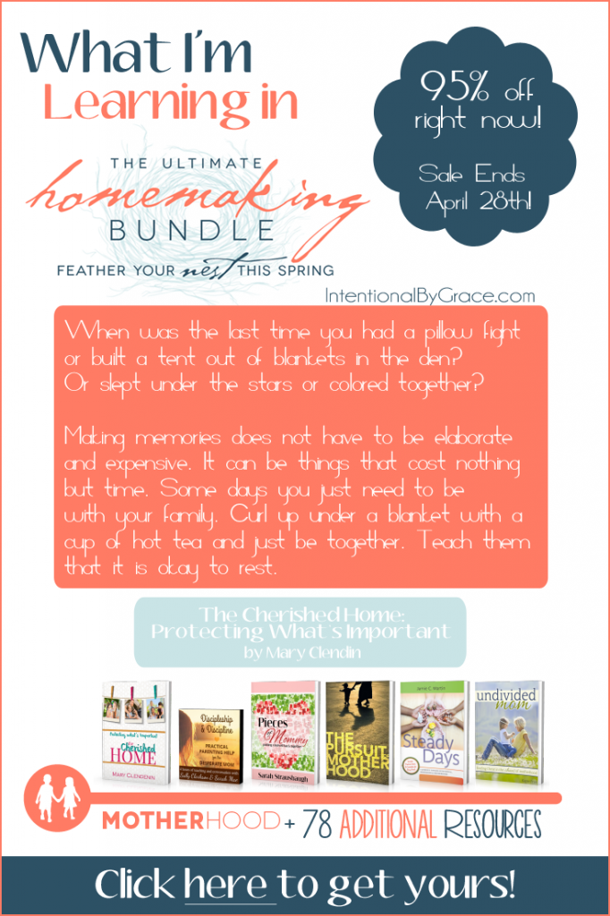The Ultimate Homemaking Bundle is on sale for a short time! Don't miss your chance to get 80+ resources for 95% off!
