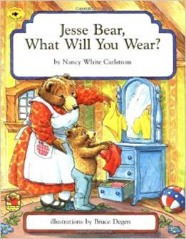 5 Books for Summer (Jesse Bear What Will You Wear) Intentional By Grace