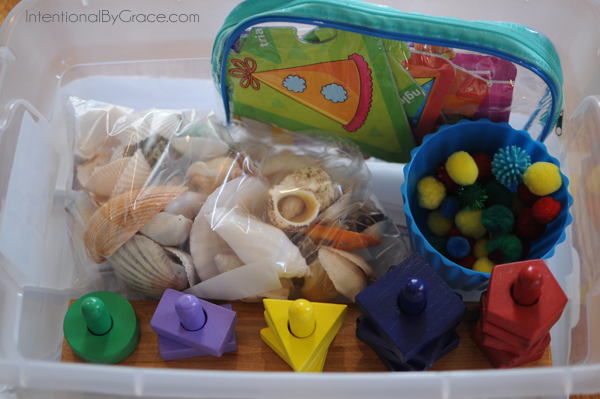 busy box idea for toddlers 5
