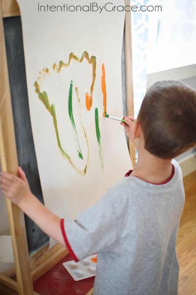 free painting for the carrot seed