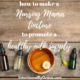 How to Make a Nursing Mama Herbal Tincture that helps promote a healthy milk supply. Here's my favorite tincture recipe to help with milk supply!
