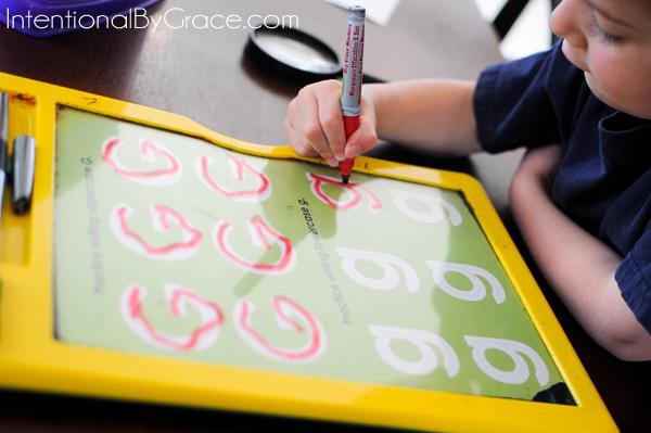 letter g practice