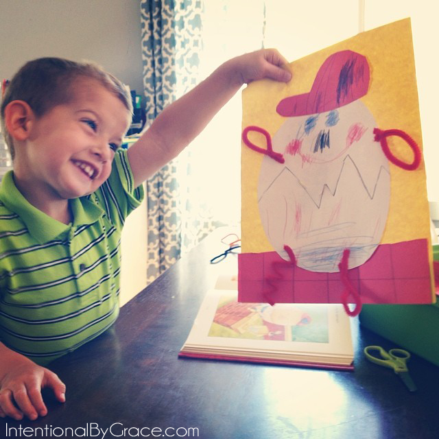 simple humpty dumpty craft