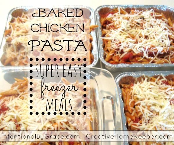 Baked Chicken Pasta