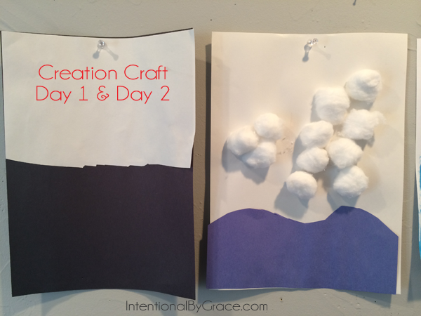 creation day one and day two