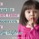 Are you looking for quiet time resources for your toddlers and preschoolers? Here's my favorites so I can have some time uninterrupted time with Jesus. | IntentionalByGrace.com
