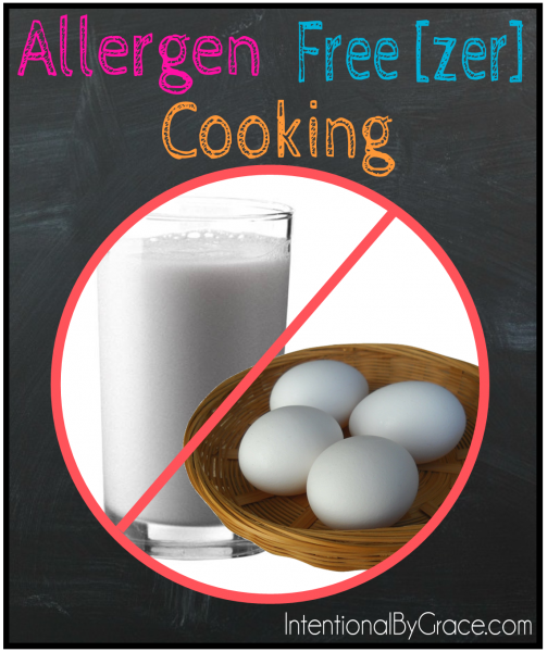 Allergen Free(zer) Cooking - Intentional By Grace