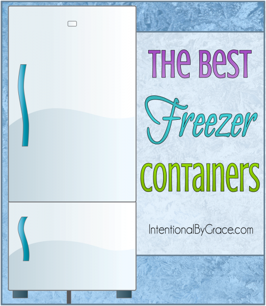 The Best Freezer Containers - Intentional By Grace