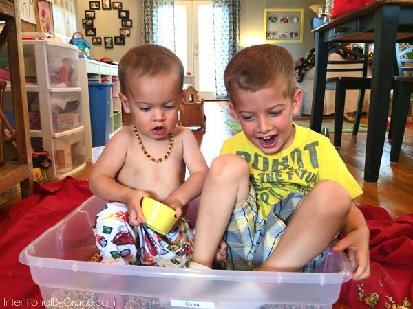 brothers sensory