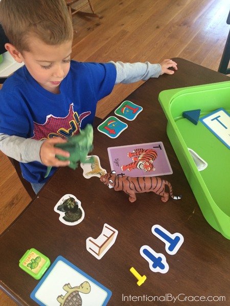 letter t sensory bin play time