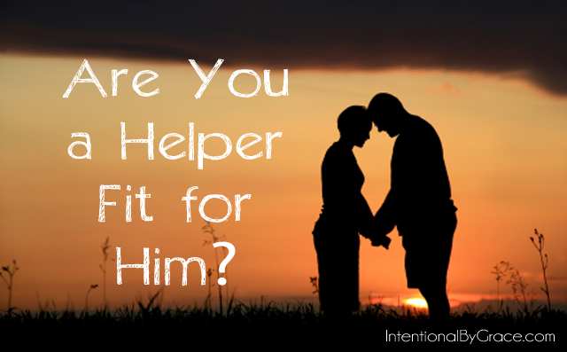 are you a helper fit for him