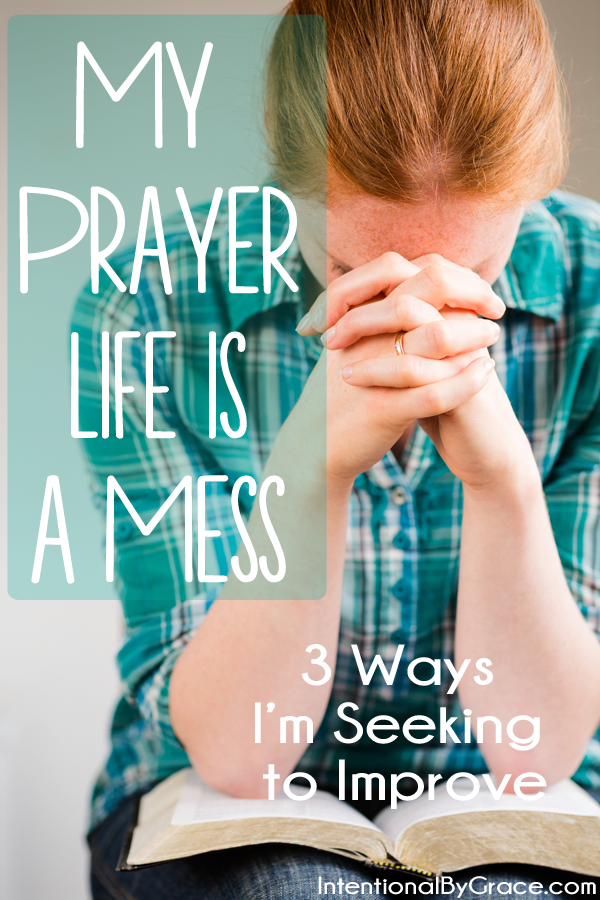 Is your prayer life a mess? You're not alone. This site has lots of ideas for growing in your prayer life plus a tutorial for starting your own prayer notebook!