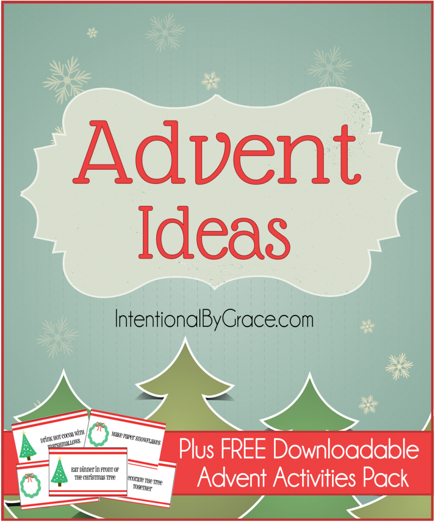 Advent Calendar Ideas Wife : Advent ideas plus free downloadable activities