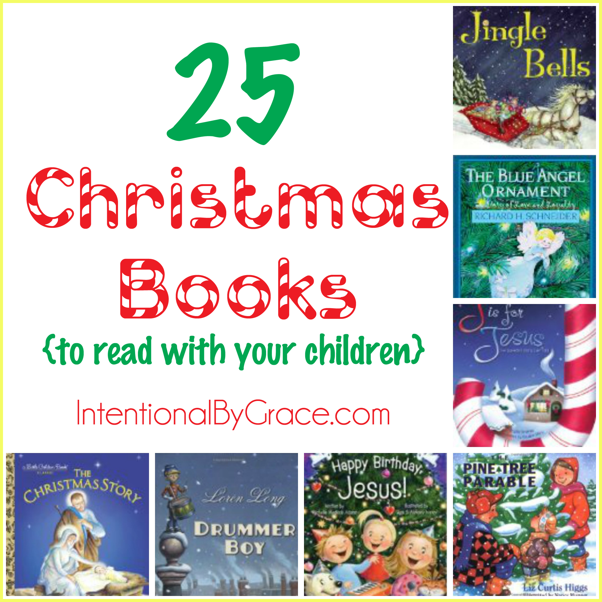 25 Christmas Books to read with your children!