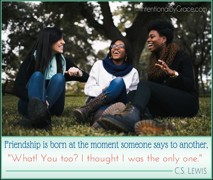 CS Lewis Friendship Quote
