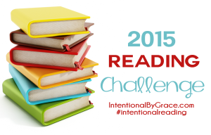 Want to join the 2015 reading challenge? 12 books - 12 topics - 12 months! You can do it!