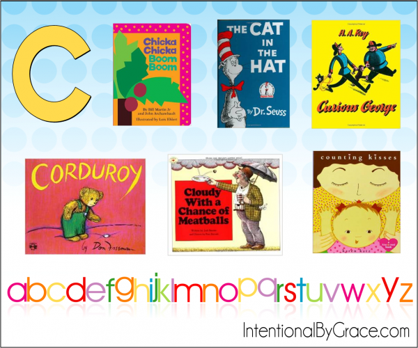 Childrens Books From A to Z (C) - Intentional By Grace