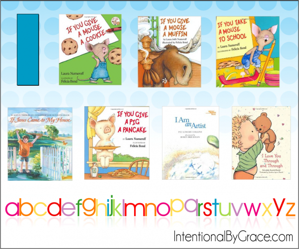 Childrens Books From A to Z (I) - Intentional By Grace