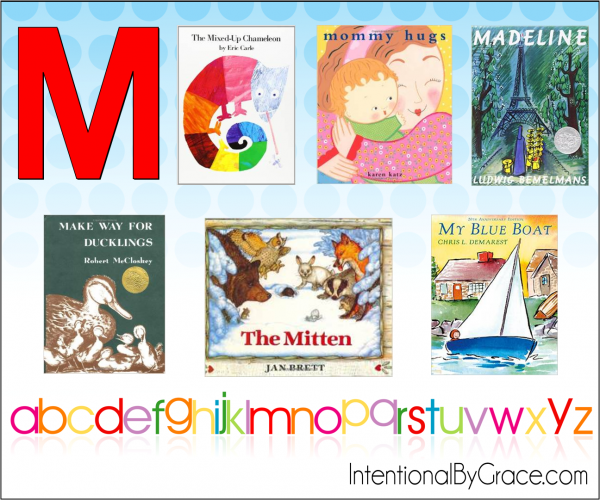 Childrens Books From A to Z (M) - Intentional By Grace