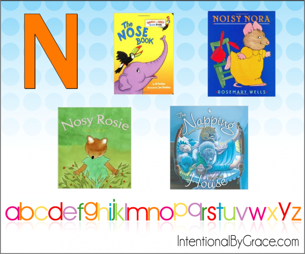 Childrens Books From A to Z (N) - Intentional By Grace