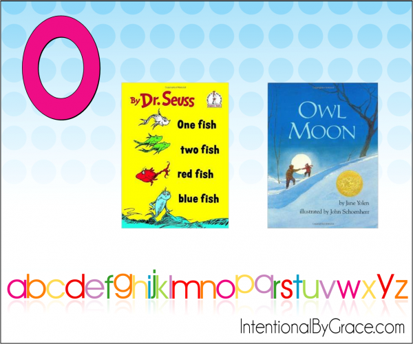 Childrens Books From A to Z (O) - Intentional By Grace