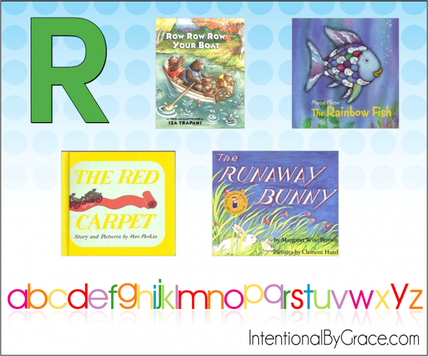 Childrens Books From A to Z (R) - Intentional By Grace