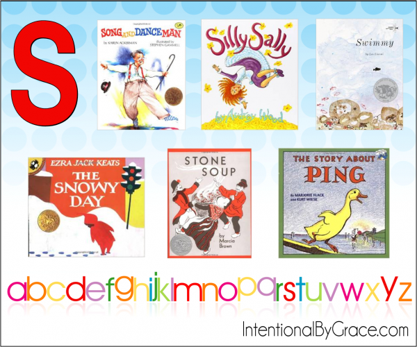 Childrens Books From A to Z (S) - Intentional By Grace