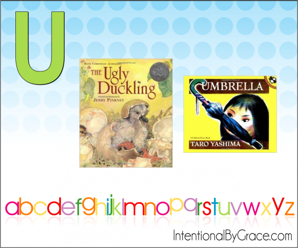 Childrens Books From A to Z (U) - Intentional By Grace