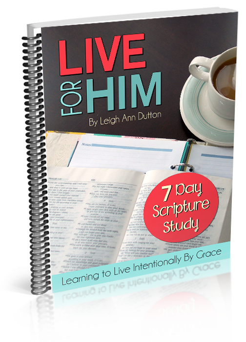 Live for Him 3D Cover (Final Version 1)