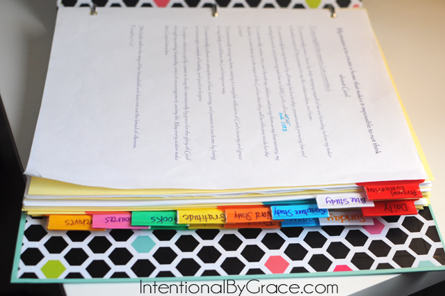 How To Make A Prayer Notebook Intentional By Grace