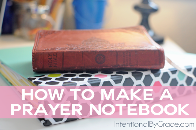 Step-by-Step Guide to Creating Your Own Prayer Notebook!