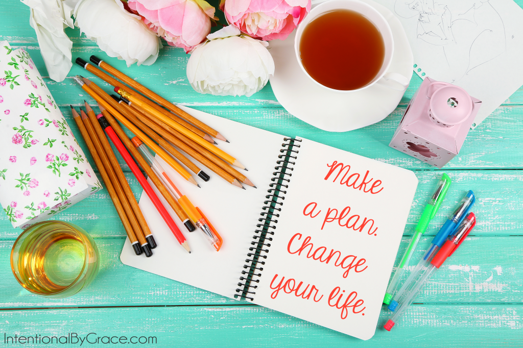 make a plan. Change your life. Check out Live for Him: A Grace-Filled Look at Planning. It will help you set goals, get organized, and start living for Jesus!