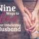 How do you love an unbelieving husband? How has God has called you to love your non Christian husband? Here is some encouragement for you.   IntentionalByGrace.com