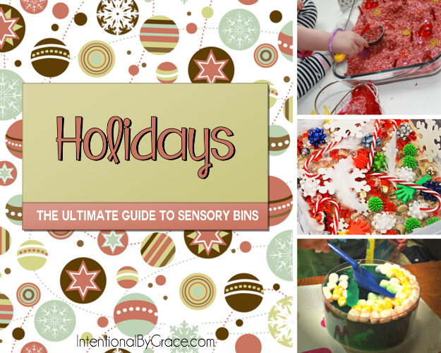 Holidays (The Ultimate Guide to Sensory Bins) - Intentional By Grace
