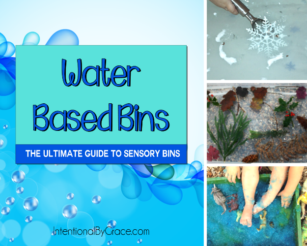 Water Based Bins (The Ultimate Guide to Sensory Bins) - Intentional By Grace
