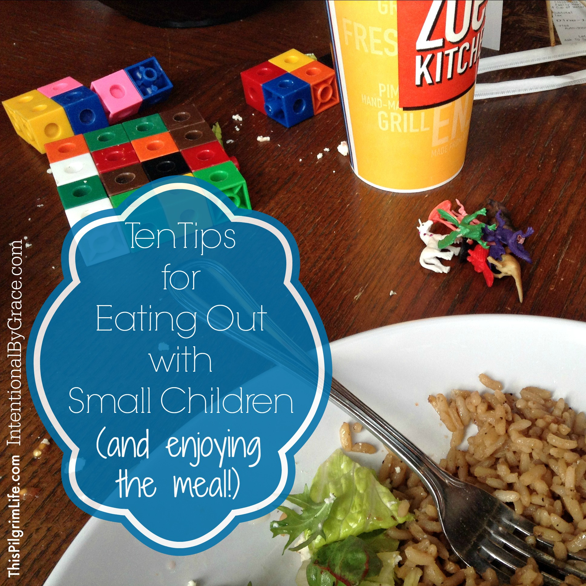 10 Tips for Eating Out with Small Children {and Enjoying the Meal!}