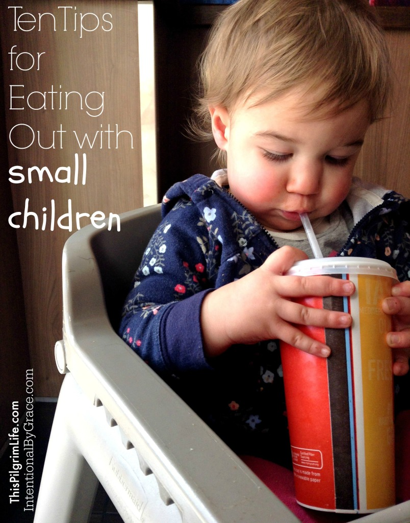 Ten Tips for Eating Out with Small Children2