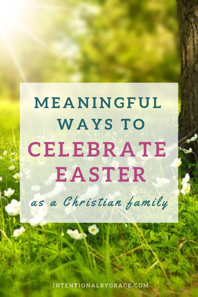 This post is full of meaningful ways to share the meaning of Easter with your family. There is something for toddlers all the way up to high schoolers. Plus a great outreach idea you can do as a family.