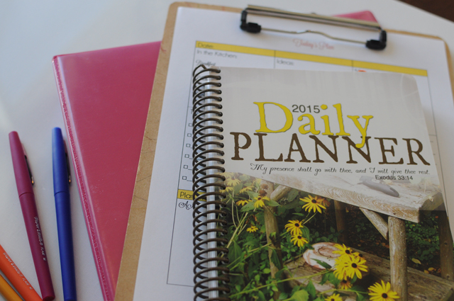 planning tools close up