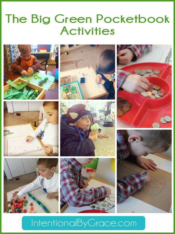the big green pocketbook activities for before five in a row curriculum!