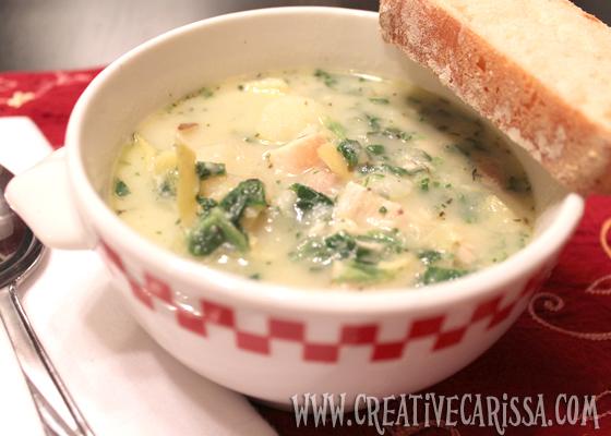 spinach artichoke chicken soup cover