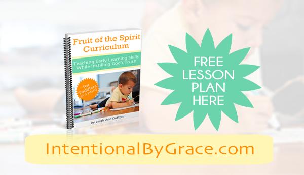 FREE Lesson Plan to Teach Joy to Your Toddler!